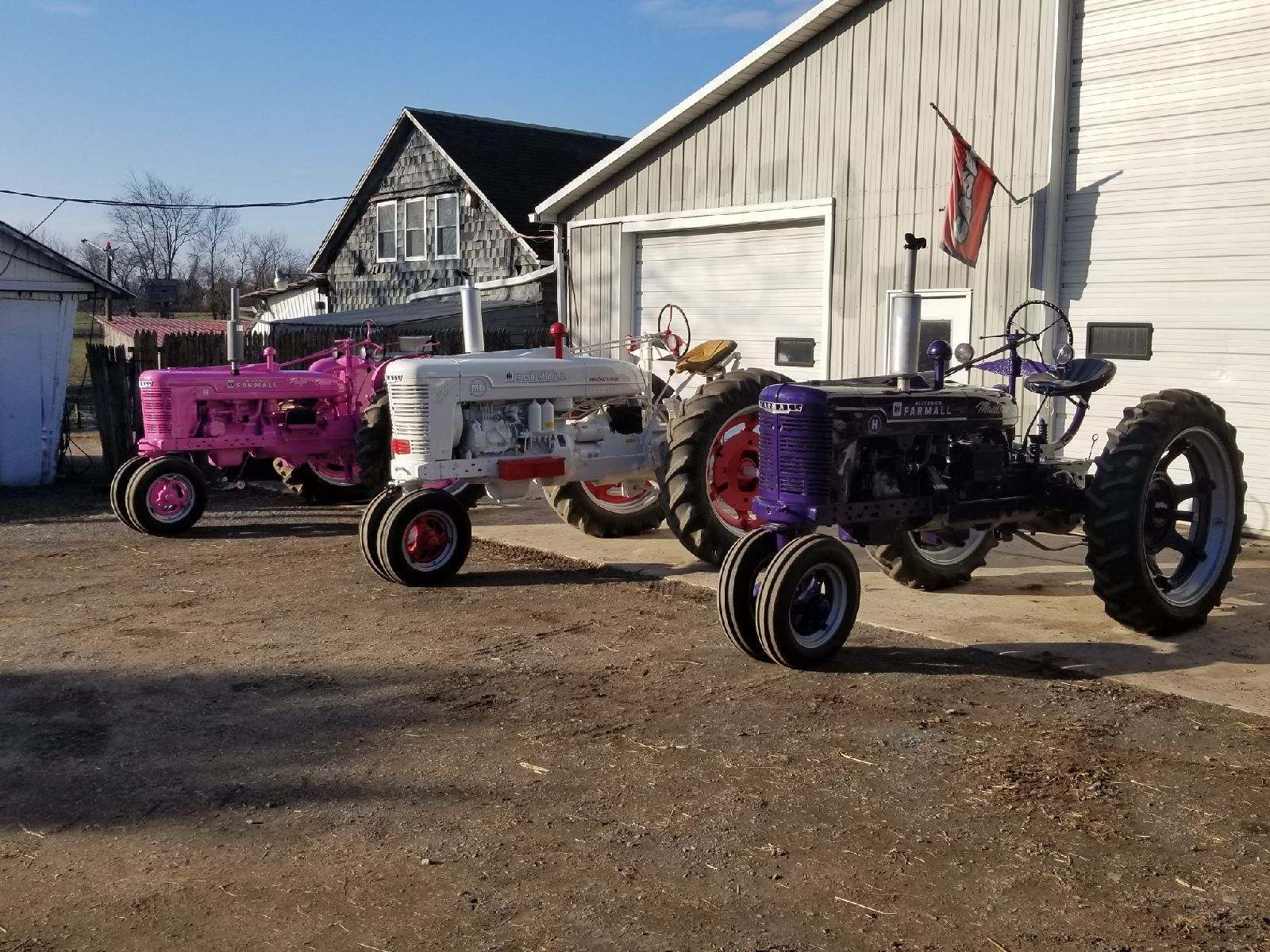 custom tractors for the kids